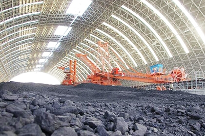焦作煤场环保棚